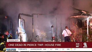 One person dead in Pierce Township house fire