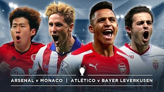 #UCL PREVIEW: ARSENAL v MONACO, BAYER v ATLÉTICO | #FDW - Video