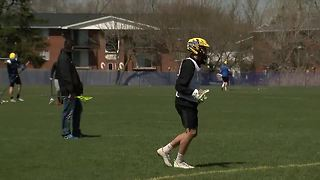 Super 7: WSW lacrosse player, Jesse Broad - Video