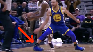 OUCH! Steph Curry Suffers NASTY Ankle Injury vs Pelicans - Video