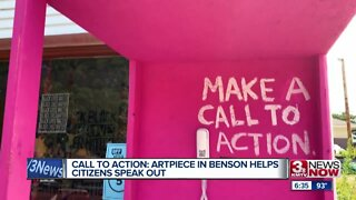 Call to action: Artpiece in Benson helps citizens speak out