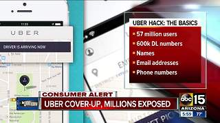 Uber hacked, millions exposed - Video