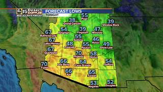 Clouds, breezes blow into the forecast - Video