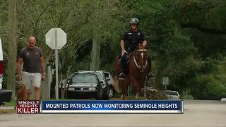Mounted police to patrol frightened Tampa neighborhood - Video