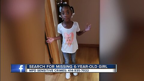 Search for missing 6-year-old girl continues in Milwaukee