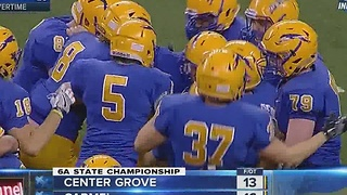 Carmel beats Center Grove in 5A Indiana State Championship - Video