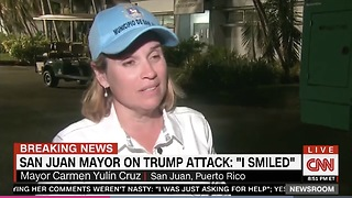San Juan Puerto Rico Mayor Takes Swipe At Melania Trump - Video