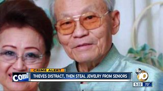 Linda Vista thieves distract, then steal jewelry from seniors