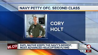 Lee County native to fly most advanced Navy helicopter