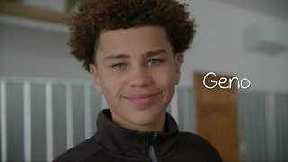 Grant Me Hope: Geno loves playing basketball, video games, and making good grades - Video