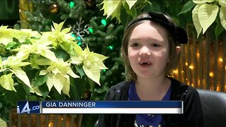 Little girl encourages community to donate blood