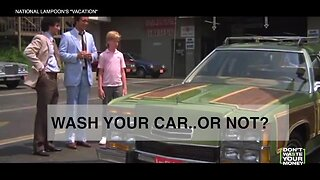 Should you wash your car...or not?