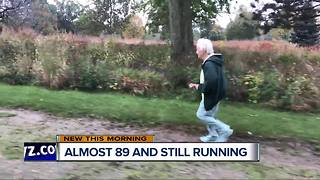 88-year-old nun to run in Detroit Free Press half marathon - Video