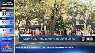 Holiday shopping and COVID