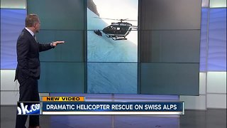 Daring helicopter rescue caught on camera