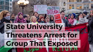 State University Threatens Arrest for Group That Exposed Terror Front Connection on Campus - Video