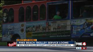 Beach Trolley coming to Collier County - Video