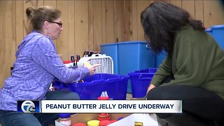 Peanut Butter Jelly Drive Underway