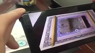 Chinese university issues first acceptance letter using Augmented Reality - Video