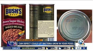 Bush recalls 3 flavors of baked beans - Video