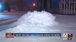 Winter weather creates hazardous conditions for drivers