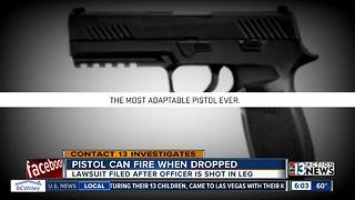 Pistol can fired when dropped - Video