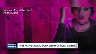 Clarence girl chasing down music industry dreams - Video