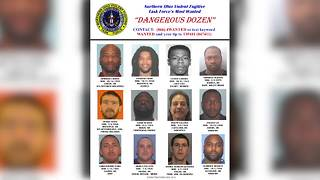 Five new names added to Dangerous Dozen list of most wanted fugitives in Northeast Ohio - Video