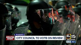 Phoenix city council to vote on police review - Video