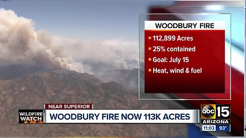 What we know: Woodbury Fire, Badger Springs Fire, Slate Fire