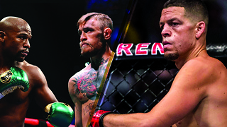 Nate Diaz Says He'll Kick the Mayweather vs McGregor Winner's ASS - Video