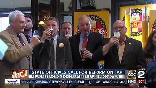 State officials call for reform on tap - Video