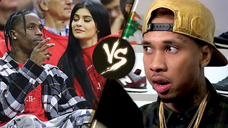 """Travis Scott Wants Tyga to """"STAY AWAY"""" from Kylie Jenner AND Their Baby"""