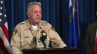 Las Vegas Sheriff Lombardo gives timellne update for 1 October mass shooting - Video