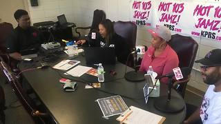 AdHoc Group Against Crime partners with Hot 103 JAMZ for 12-hour call to action - Video