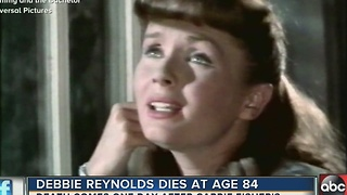 Debbie Reynolds dies at 84 one day after death of daughter, Carrie Fisher - Video