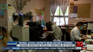 Several Kern County school districts begin their first day of school