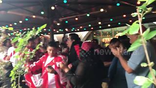 Peru fans chant in Moscow ahead of World Cup - Video