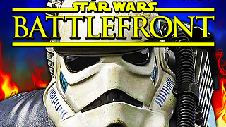 Star Wars Battlefront: Hilarious Stormtrooper Easter egg - Video