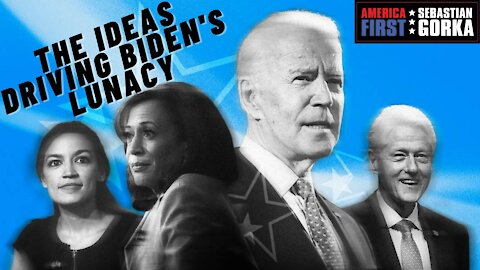 EXCLUSIVE: The ideas driving Biden's lunacy. James Lindsay with Sebastian Gorka