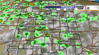 T'Storms return. Cooler by weekend. - Video