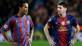 Messi Vs Ronaldinho - Video