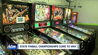 State pinball championships come to WNY - Video