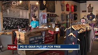 Broad Ripple clothes shop out on Paul George, gives away PG gear for free - Video