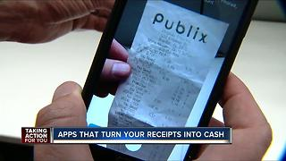 Apps that turn your receipts into cash - Video