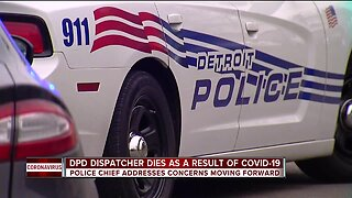Detroit police dispatcher dies as a result of COVID-19