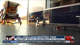 Hall Ambulance fails response times - Video