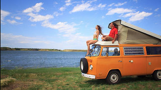 Idle Bus Theory Couple Quit Their Jobs to Travel in a Van