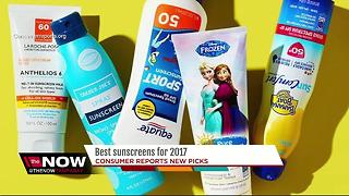 Consumer Reports releases the best sunscreens to buy in 2017 - Video