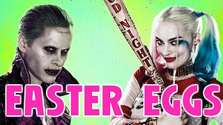 Every SUICIDE SQUAD Easter Egg - Video